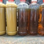 Suszenie oleju